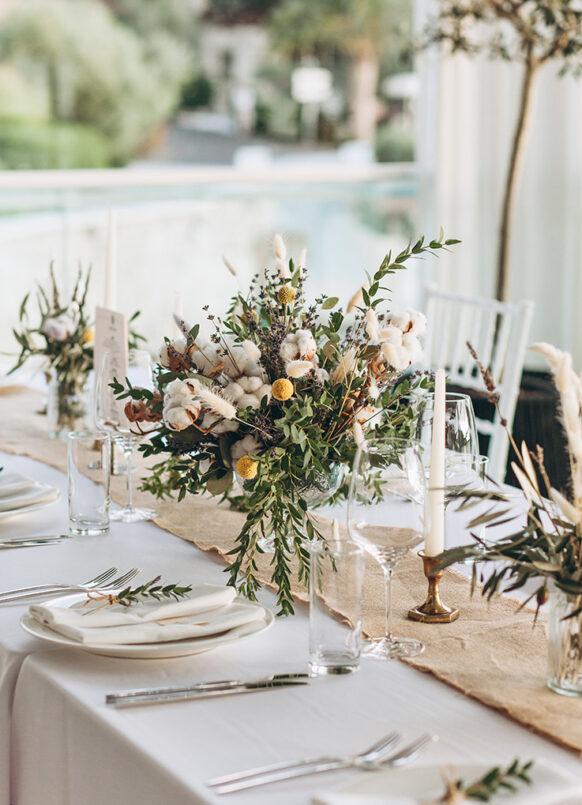 Inspiration table mariage traiteur