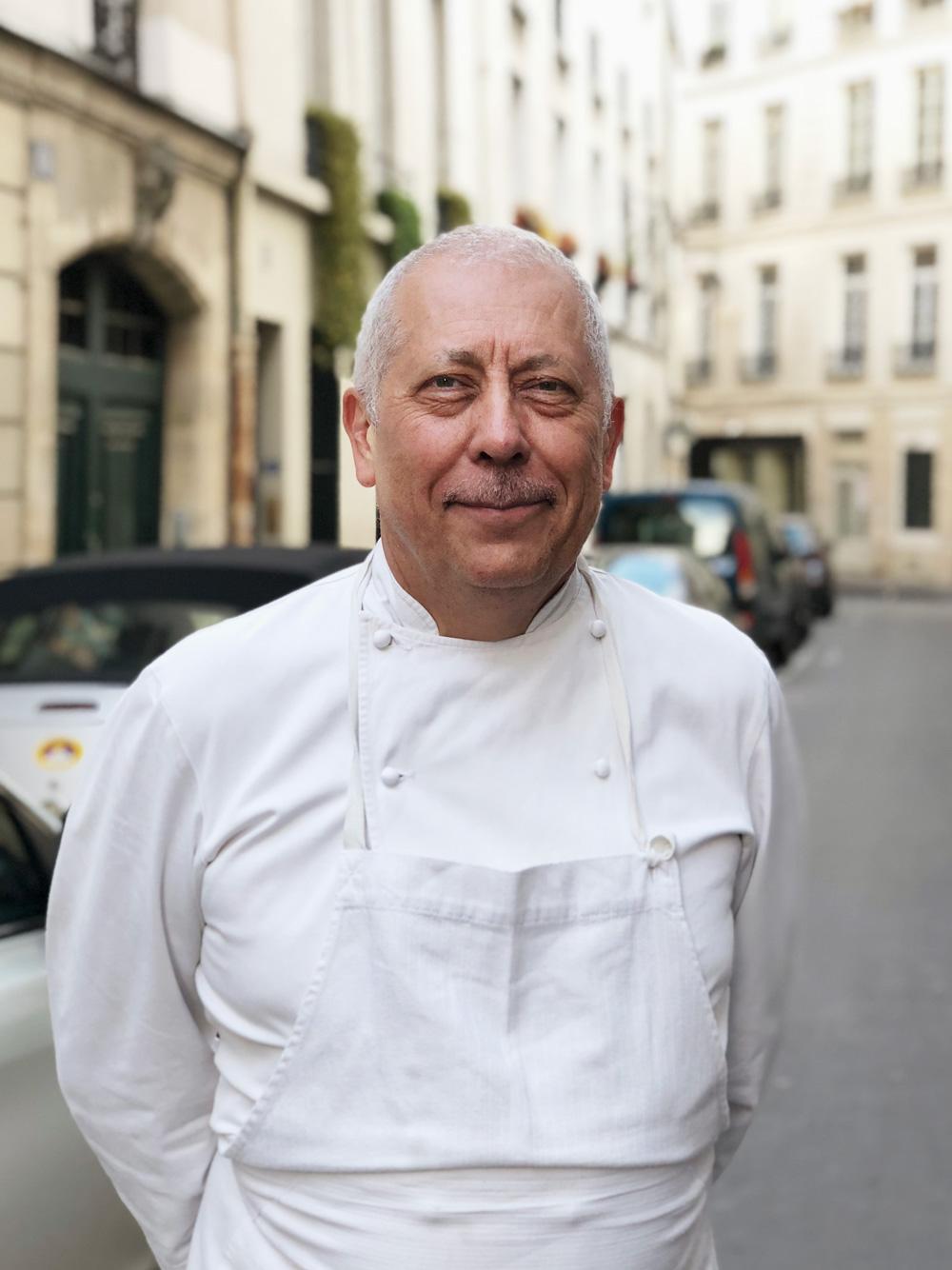Chef Alain Vauvy